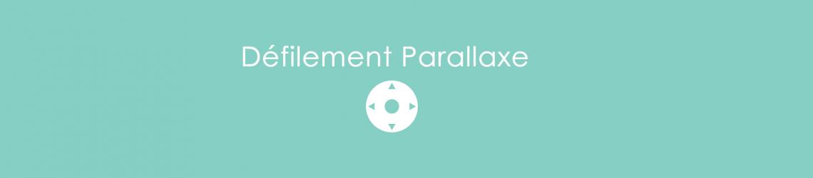 Le défilement parallaxe
